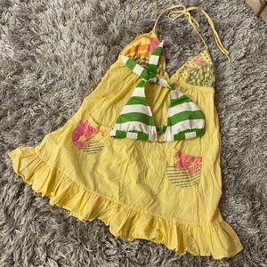 🎁3/$18🎁Set: Bikini top and cover-up